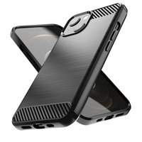 Apple iPhone 13 için Uygun 13 12 Mini 11 Pro Max Case Hepsi Dahil Güz Koruma Kapağı Karbon Fiber Çizim TPU Basit Yumuşak Kılıf