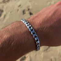 Link, Chain YWSHK 2021 Trendy Cuban Men Bracelet Classic Stainless Steel 3 5 7mm Width For Women Jewelry Gift