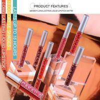 Lip Gloss 18 Colors Velvet Matte Liquid Lipstick Waterproof Long Lasting Non-marking Easy-Colored Lips Make Up Cosmetic TSLM1
