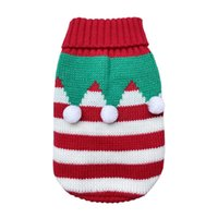 Dog Apparel Christmas Cat Sweater Cartoon Pet Clothes For Small Medium Dogs Pets Clothing Winter Puppy Coat Knitting Pullover