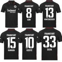 21 22 Eintracht Frankfurt Futbol Formaları 2021 2022 Die Adler Sow Silva Kostic Jovic Futbol Üniforma Çocuk Kiti Hasebe Kamada Jersey Hinteregger Maill