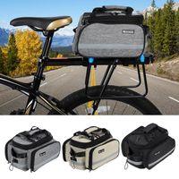 Cycling Bags WEST BIKING Bicycle Bag Large Capacity Waterproof Mountain Bike Saddle Rack Trunk Luggage Carrier