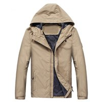 Designer spring and autumn loose stone top men's soft shell island coat glasses jacket hat thick plush jackets