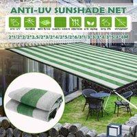 Shade Outdoor Garden Sunproof Mesh Net Sun Sail Protection Awning Sunshade Yard Hiking Greenhouse Car Cover