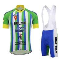 Men's tracksuits Kelme Mannen Wielertrui Winter Thermal Fleece Bikes Long Mouwen Jacket Maillot Ciclismo Mtb Zomer Cycl Clothing Shorts Set 0911