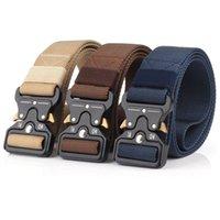 Belt Belt Tactical Cinture in nylon Belt Belt Duty Duty Metal Fibbia Regolabile Army Gestry Belt Belt ESTERNY ACQUISTA GIOVAMENTE Jeans Strap541 T2