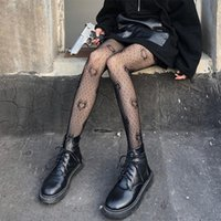 Женщины Черное сердце точку жаккардовые рыбалки колготки готические панк пустые сетки прозрачные прозрачные колготки чулки бельё носки чулочные изделия