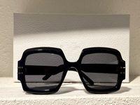 Lunettes de soleil d'été pour hommes et femmes Style anti-ultraviolet rétro Signature S1U plaque Grand carré Plein cadre de mode lunettes de mode Boîte au hasard