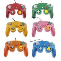 Controller di gioco Joysticks 10pcs con numero di tracciamento Controller cablato Gamepad per N-G-C Joystick One Button Game-Cube W-I-I-I