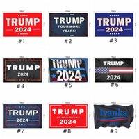 ترامب العلم 2024 الانتخابات العلم بانر دونالد ترامب العلم إبقاء أمريكا عظيم مرة أخرى إيفانكا ترامب أعلام 150 * 90 سنتيمتر