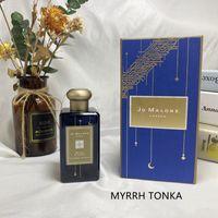 Hot-Perfume Woman High-End London Myrrh Tonka Rose Magnolia Velvet Rose Oud Perfume Para Hombre Colonia Duradera Fresh Male Fresh Edp 100ml