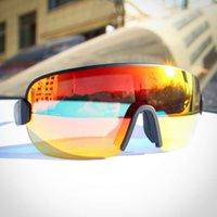 Sonnenbrille Radfahren Gläser Berg Rennrad Sport Eyewear Reiten Laufen UV400 Männer Frauen Fahrradbrille 3 Len