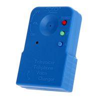 Original Mini Trocador de Voz Portable 8 Vozes Microfones Telefone Telefone Telefone