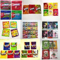 Pronto para enviar Airheads Xtremes Bags Cereja Laranja Bits Gummies Zipper Resealable Mylar Edibling Embalagem TRLLI Trolli Errlli Baribo Oneup Skittles