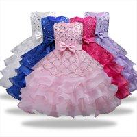 Bambini Principessa Ragazza per abiti da sposa festa di compleanno festa boutique fiore tut kids Prom Girls 3 15 anni