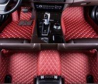 Custom Car Floor Mats for Land Rover Range-Rover-velar 2017-2021 , Black Beige