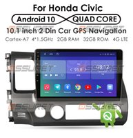 Quad Core Android 10 Fit HONDA CIVIC 2004 2005 2006 2007 - 2009 2010 2011 Multimedia Stereo Car DVD Player Navigation GPS Radio
