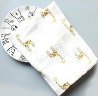 طفل الشاش قماط البطانيات القطن الصيف مناشف الحمام الوليد يلتف الحضانة الفراش الرضع القماش parisarc الجلباب لحاف zze4756