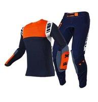 2021 Vestito da moto fuoristrada per motocicli da equitazione da uomo Vestiti anti-autunno Anti-Fall Vestiti + Pantaloni