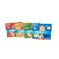 Stehaufbeutel cerea essbare Mylar-Paket-Taschen saure Cookie-Tasche Verpackung für Original Gummi Water Proof-Reißverschluss-Schloss-Einzelhandel-Geschenk-Pakete