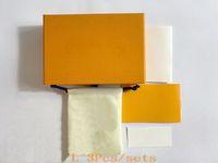 Estilo de moda Joyas anaranjadas Conjuntos de joyería Collar Pendientes Pendientes Anillo Bolsa de polvo Bolsa de regalo Bolsa de regalo (coinciden con las ventas de artículos de la tienda, no vendido individual)