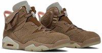 أحذية أصيلة 6 كاكي 6 ثانية كرة السلة الشراع مشرق قرمزي توهج الزيتون في الظلام الرجال النساء الرجعية أحذية رياضية