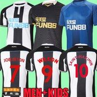 21 22 Newcastle Soccer Jerseys Nufc Home United Shelvey Wilson 2021 2022 Camisetas Joelinton Camisa de Fútbol de Joelinton Almiron Ritchie Gayle Lewis Lascelles Hombres Kits Kits Tops Tops