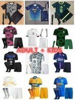 Bambini adulti Kit Liga MX 21 22 Club America Soccer Jerseys Leon Terzo 2021 2022 Messico Léon Tijuana Tigres Unam Chivas Camicie da calcio