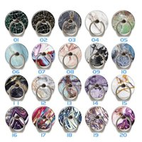 Cell Phone Ring Holder 360 degree Rotation Marble Finger Grip Kickstand Adhesive Compatible With Various Mobile Phones