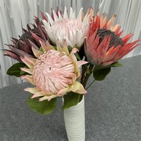 One Silk Big Protea Cynaroides Simulation Artificial Epiphyl...