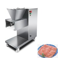 500KG H Cut Meatting Machine Stainless Steel Electric Meat Cutter Automatic Meat Slicer Shred Cutter Dicing 220V 110V 380V