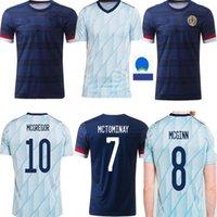 Scotland Soccer Jerseys Home 2021 قميص روبرتسون فريزر كرة القدم Naismith McGregor Christie Forrest McGinn Men Kids