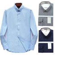 Hot 2021 high quality cotton men's long-sleeved dress men's casual POLO shirt fashion American brand RL Oxford cloth social shirt M-4XL