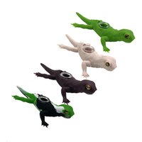 Lizard Design Silicone Hand Pipe Bongs Water Herb Pipes Heady Pyrex Spoon with Glass Bowl Smoking Oil Rig Dab Burner Tobacco Cartoon Animal Pattern 4 Colors Creative