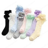 Bebek Uzun Çorap İlkbahar Yaz Ince Kızlar Yüksek Tüp Yenidoğan Sivrisinek Proof Çoraplar Dantel Ilmek Overknee Bacak Çorap