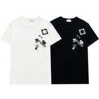 21ss Erkek Kadın Tasarımcı T Shirt Adam Moda Erkekler S Casual T-Shirt Sokak Şort Kol Bayan Giyim Hiphop En Kaliteli Tişörtleri