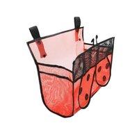 保管袋バスグッズオーガナイザーネットハンモック防水メッシュキッズバスルームの装飾