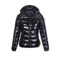 Womens 다운 재킷 겨울 자켓 파카 최고 품질의 클래식 캐주얼 코트 야외 깃털 숙녀 outwear 따뜻한 짧은 코트 후드 두꺼운 Windproof 겉옷