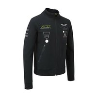 2021F1 birinci seviye denklem uzun kollu ceket hız azaltma giyim yarış takım Rüzgar geçirmez çok rozeti ile aynı paragraf ile politital takım elbise özelleştirilebilir