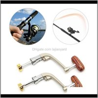 Sports & Outdoors Drop Delivery 2021 L M Metal Rotatable Knob Handle Grip Fishing Spinning Reel Gear Tackles Tool Parts Baitcasting Reels Uot
