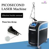 Машина удаления татуировки Pico лазерные татуировки удалить QSwitch ND YAG Lazer Picosecond лазеры устройства Picolaser Beauty Support