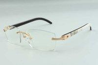 Tamanho: homens óculos estilo novo para quadro, mulheres designers high-end 36-18-140 3524012 quadros naturais búfalo chifres híbridos 2021 glas ebcux