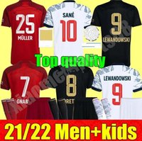 2021 2022 FC 바이에른 리베리 햄즈 축구 유니폼 뮌헨 성인 남성 키트 21 22 Vidal Lewandowski Muller Sane 홈 멀리 3 초 아동 축구 유니폼