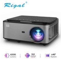 Rigal RD828 Full HD Proiettore LED Wifi Android 9.0 Projetor nativo 1920 x 1080p 3D Home Theater Smart Phone Video Video Beamer