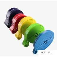 5 Level Fitness Resistance Bands 208cm Workout Training Expander Power Cross Fit Yoga Rubber Loop for Fitness Body Building