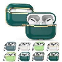 Casi di Airpod Airpod di TPU soft Electroplating di lusso per Apple Airpod Pro 1 2 3 Copertura protettiva per auricolare auricolare ultra sottile