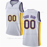 Printed Custom DIY Design Basketball Jerseys Customization Team Uniforms Print Personalized Letters Name and Number Mens Women Kids Youth Los Angeles0011