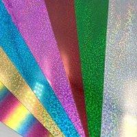Craft Tools 30*50cm Transfer Sheets Glitter Iron On for DIY Cricut T Shirt 8 Vibrant Colors Heat Press HTV Vinyl 7ISM