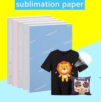 A4-Größe Sublimationspapier 100 Blatt Wärmeübertragungspapier für jeden Tintenstrahldrucker, der mit Sublimation-Tinte LLA6985 übereinstimmt