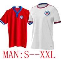 2021 Chile 2022 Copa America Soccer Jersey Startseite Alexis Vondal Vargas Medel 21 22 Pinares Camiseta de Fútbol Nationalmannschaft Training Football Shirts MAILLOTS